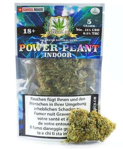 marihuana power plant