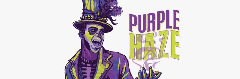 purple haze odmiana marihuany